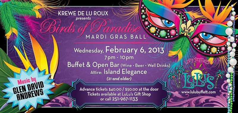 LuLus Mardi Gras Ball 2013
