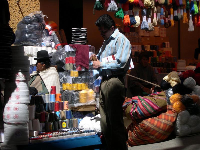 Yarn & thread for sale.