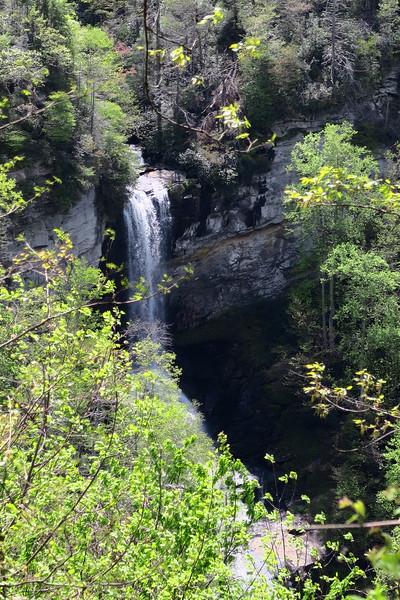 Raven Cliff Falls  (4.6 miles; d=5.60)