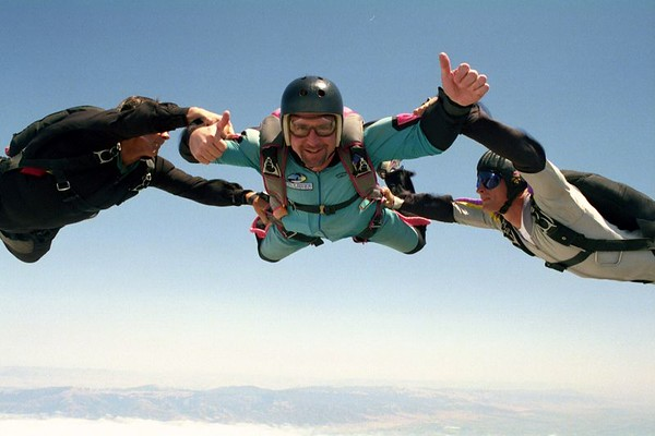 Skydiving in Monterey