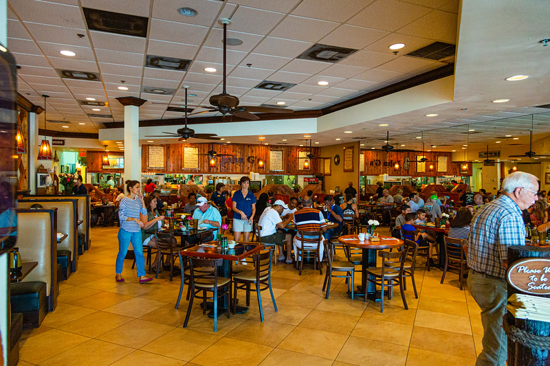 John G's Restaurant in Manalapan is crowded on a Wednesday morning, October 9, 2019. After almost 50 years, John G's was sold this past weekend. [JOSEPH FORZANO/palmbeachpost.com]