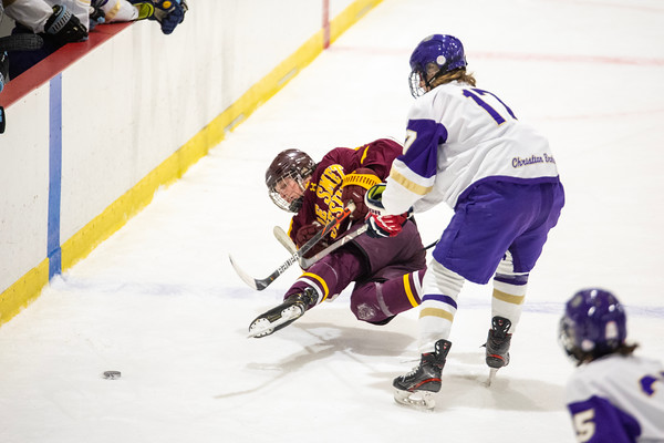 JV Ice Hockey: CBC vs DeSmet