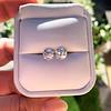 3.49ctw Old Mine Cushion Cut Diamond Pair GIA K VS1 17