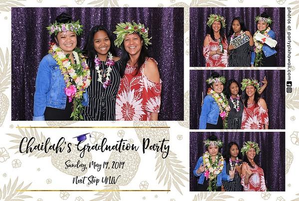 Chailah's Graduation (LED Dazzle Photo Booth)