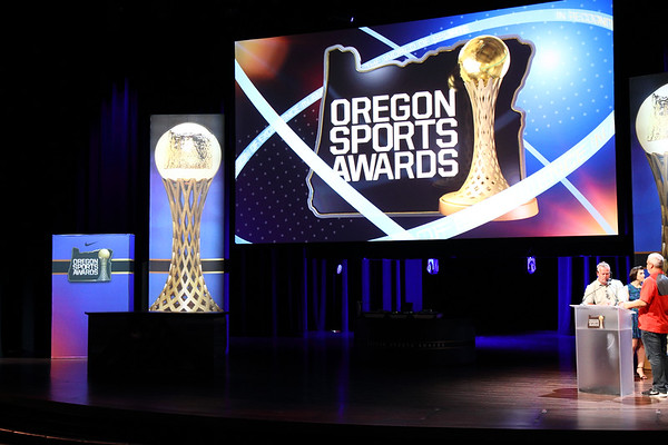 Oregon Sports Awards pre-reception