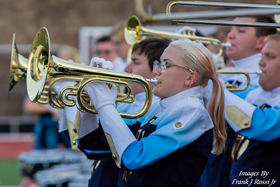 8-31-2018 Norwin Band North Allegheny Football Game