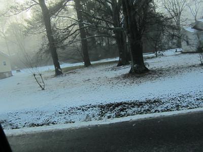 Snow 17 Jan 2013
