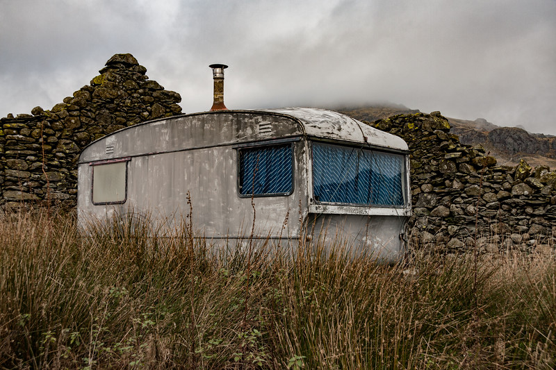 Derelict Caravan