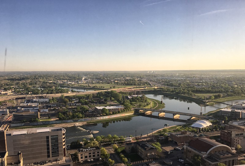 The City of Dayton on a good morning....