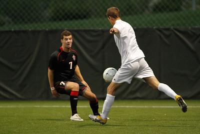 NKU Men's Soccer vs Indiana Wesleyan University 2012