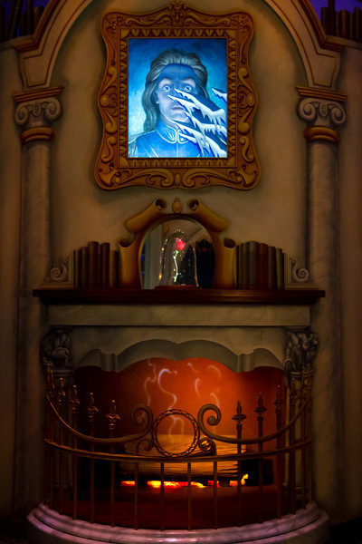 Beauty & The Beast Library In The Sorcerer's Workshop