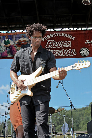 2011 PA Blues Festival photos with Banner