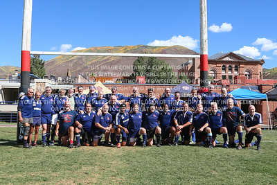 2018 Over 55's Division Virginia Cardinals Rugby Men Aspen Ruggerfest 51