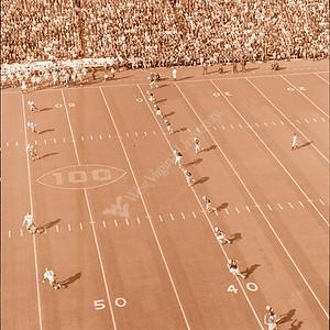 Athletics Football Game 1969 Pitt Homecoming