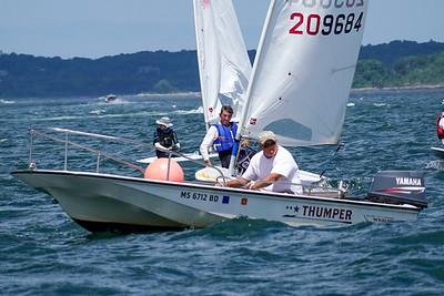 Laser sailing July 12 2020