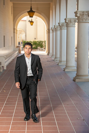 Anthony Huerta Senior & Family Pics