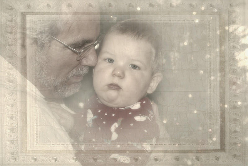 Grampa Loves Luke (first Christmas)