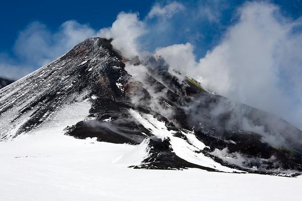 Etna La Montagnola Crater