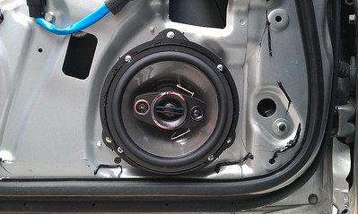2007 Subaru Impreza WRX STI Front Door Speaker Installation - USA