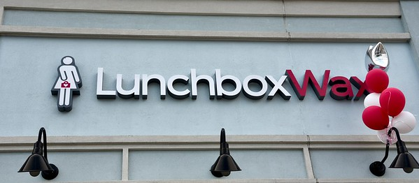 LunchboxWax Ribbon Cutting