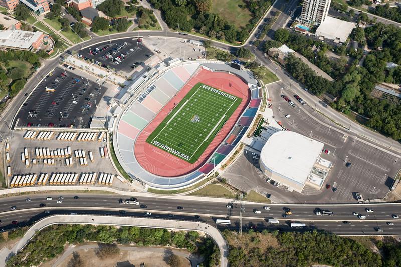 09/23/2014 093609 -- San Antonio, TX -- © Copyright 2014 Mark C. Greenberg  Alamo Stadium