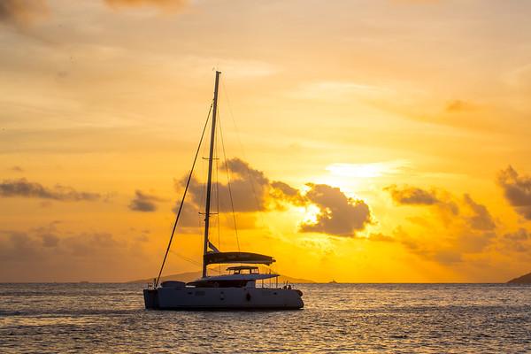 Sailing the Seychelles 2020