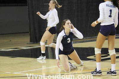 Girls Volleyball: VSHL AAA State Title Game - Stone Bridge vs. Kellam (by Dan Sousa)