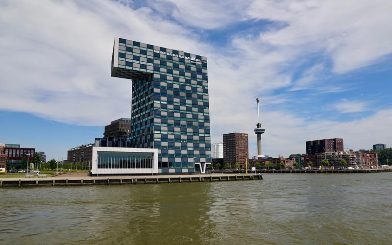 Cool building along the Maas River - Rotterdam