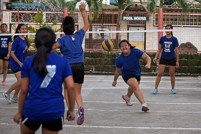 Volleyball Varsity  Team SY 2014-2015 Practice
