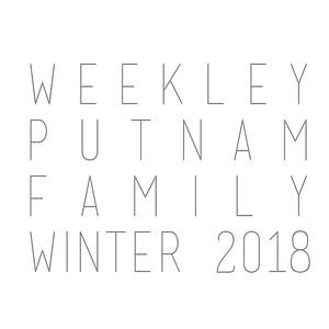 Weekley-Putnam Family Winter 2018