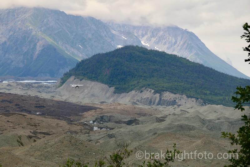 Light Plane Tour of Kennecott Glacier