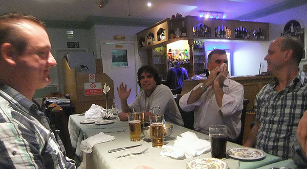 John's Birthday Curry.Whitworth.13 August 2010