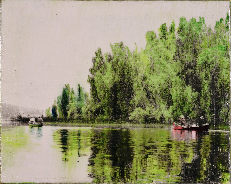 Canoeing on the Paull River
