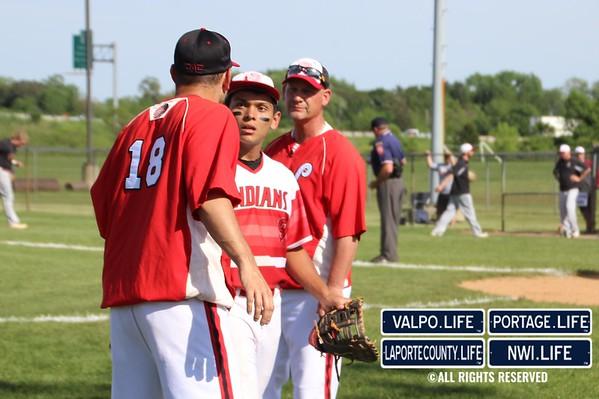 2016 Boys Varsity Baseball IHSAA Sectionals Day 2, Andrean vs. Portage