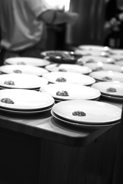 ONE OF THE COURSES BEING PLATED