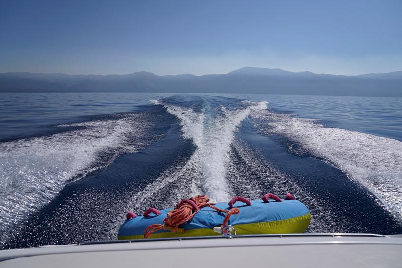 Boating on Lake Tahoe