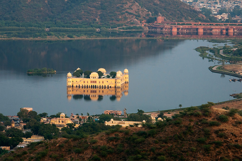 Jai Mahal (water palace)