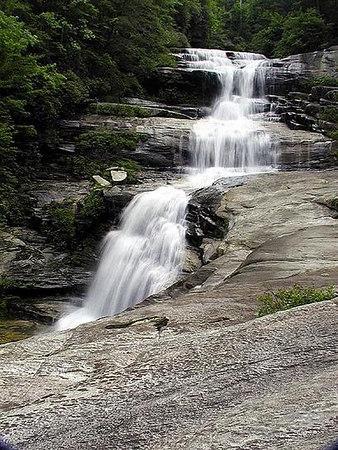 Big Falls Thompson River Gorge NC