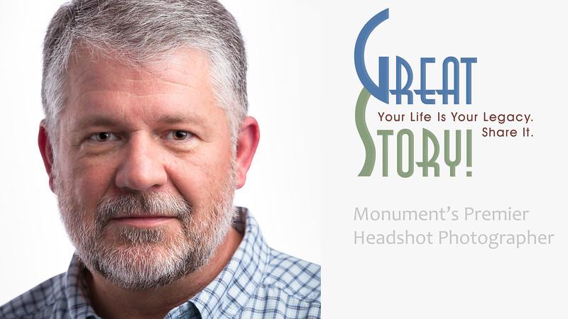 Headshot Photographer in Monument Colorado, Stephen