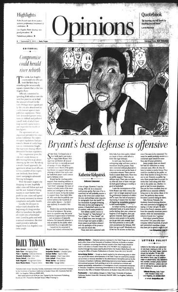 Daily Trojan, Vol. 150, No. 8, September 05, 2003