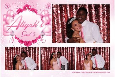 Aliyah's Sweet 16