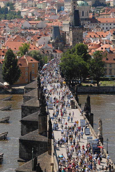View from the Old Town Bridge Tower
