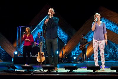 Worship Band - Easter 2015
