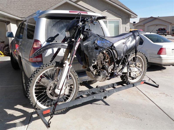 Motorcycle WR450F