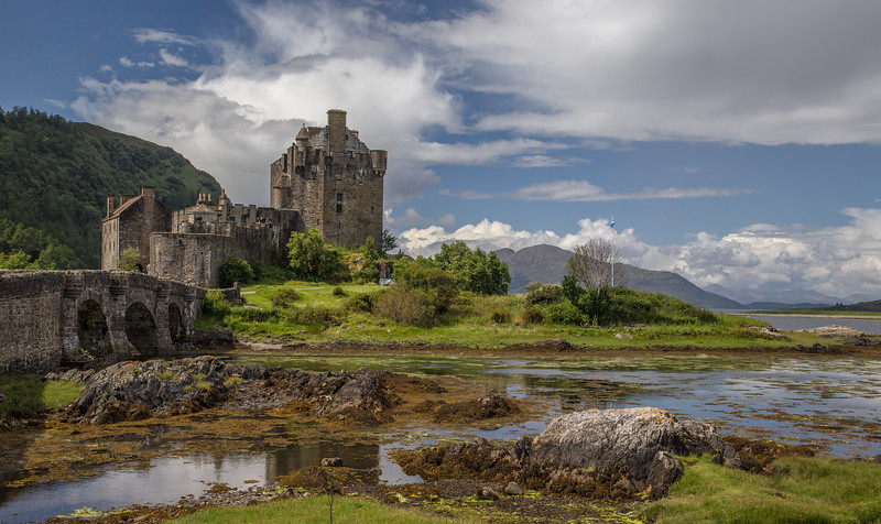 Eilean Donan Castle, Highland, Scotland, July 05 2014