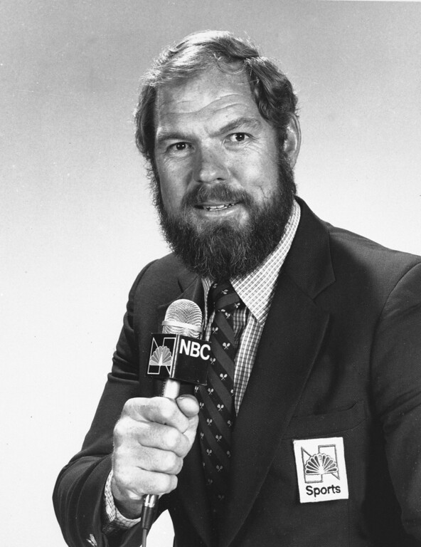 . 1983 Rose Parade grand marshal, Merlin Olsen .  (AP Photo)