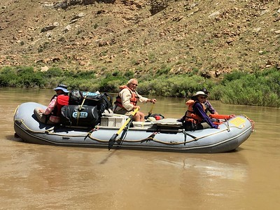 Rafting in Desolation Canyon - 2015