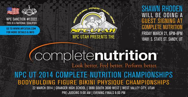 2014 NPC Utah Complete Nutrition Championships