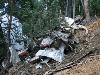 Plane wreck in the Gila