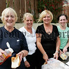 Nora Evans, Siobhan Evans, Mary Grant and Pauline McKeown pictured at St Oliver Plunkett park's annual fun day. 06W32N9